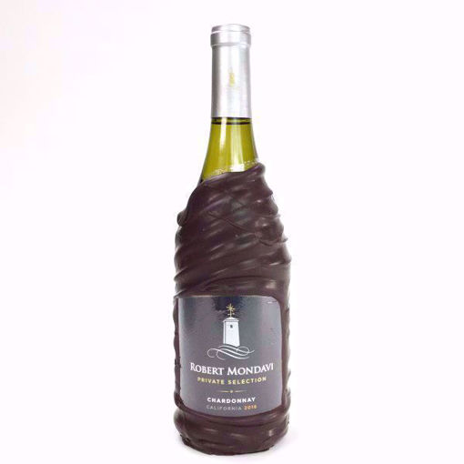 Chocolate Dipped Mondavi Chardonnay White Wine  by Sweet Traders