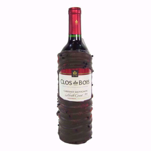 Chocolate Dipped Wine Bottle Clos Du Bois Cabernet by Sweet Traders