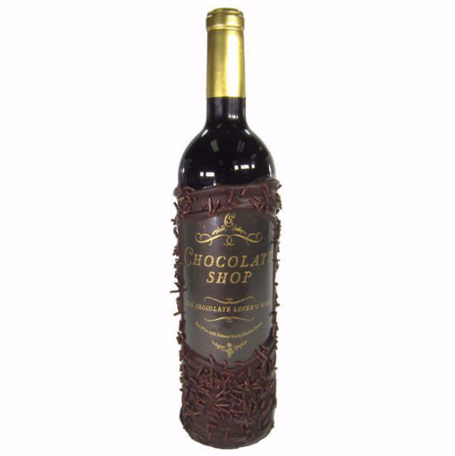 Chocolate Dipped Wine Bottle Chocolate Shop Red Dessert Wine by Sweet Traders
