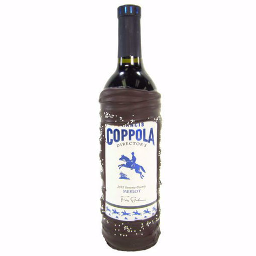 Chocolate Dipped Wine Bottle Coppola Directors Merlot by Sweet Traders