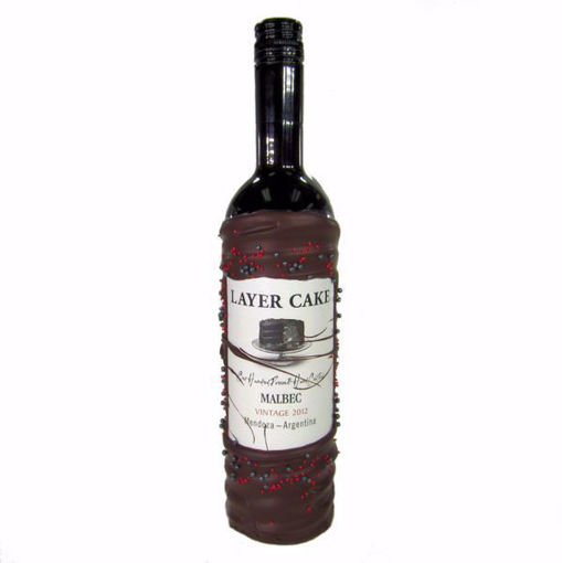 Chocolate Dipped Wine Layer Cake Malbec by Sweet Traders