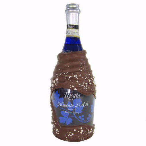 Chocolate Dipped Champagne Risata Moscato D'Asti by Sweet Traders