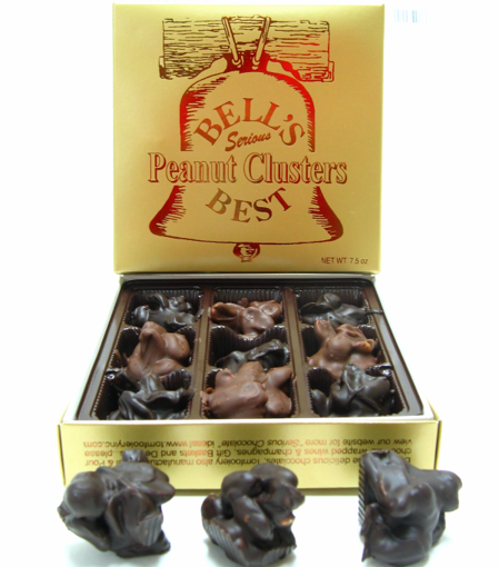 Bells Chocolate Covered Peanut Clusters by Sweet Traders