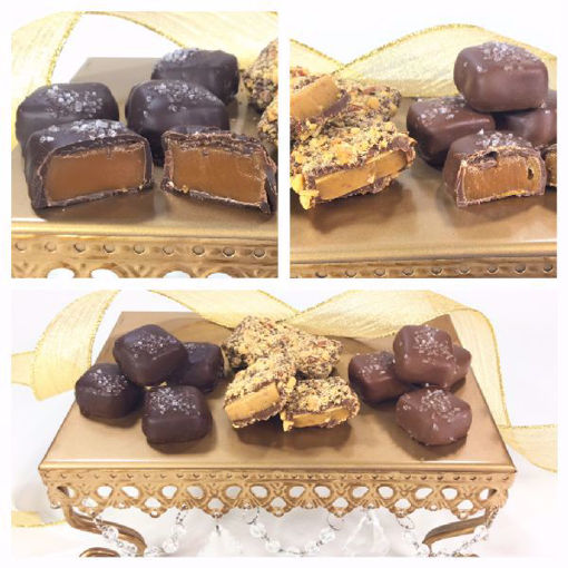 Sea Salted Caramels & English Toffee Gift Box by Sweet Traders
