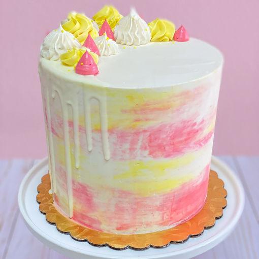 Lemon Raspberry Cake By Sweet Traders