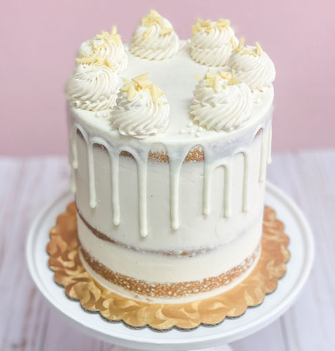 White Chocolate Raspberry Cake By Sweet Traders