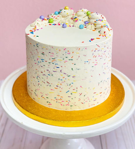 Confetti Sprinkle Vanilla Cake By-Sweet Traders