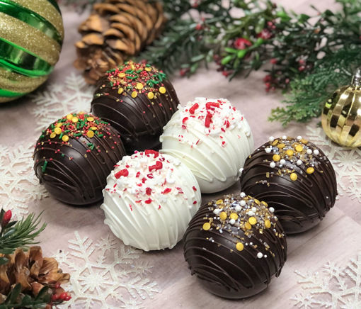 Holiday Hot Chocolate Bombs By Sweet Traders