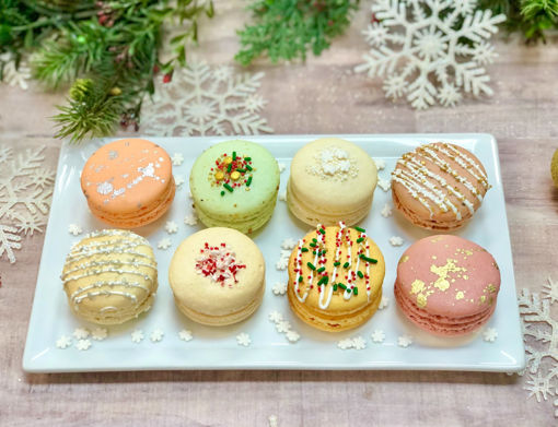 Holiday Assorted Macarons By Sweet Traders