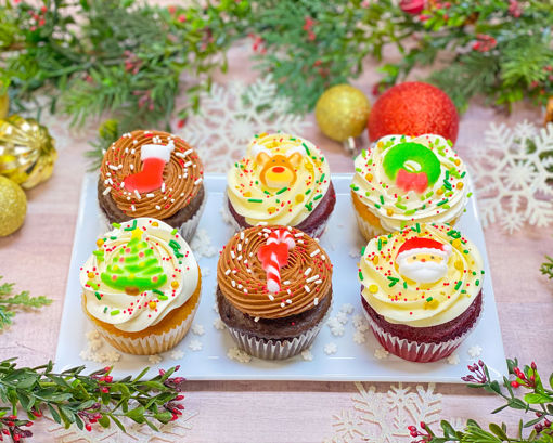 Festive Christmas Cupcakes By Sweet Traders